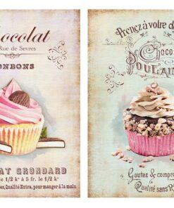 Hârtie decoupage prăjituri sweets 7