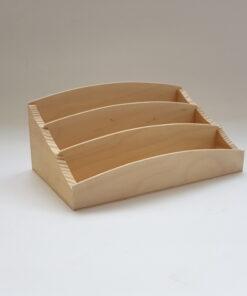 Suport din lemn pentru decorat pentru birou