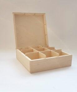 Cutie plicuri ceai 9 compartimente