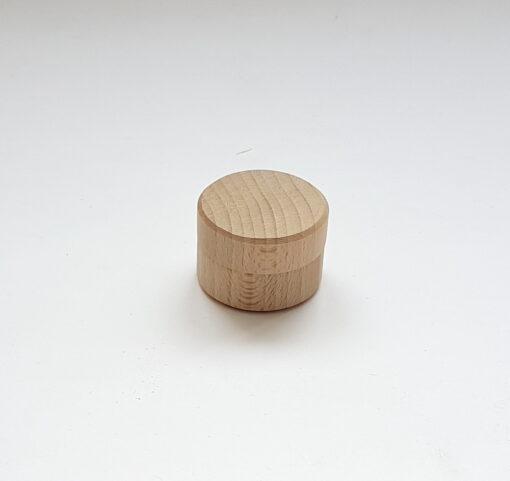 Cutie rotundă pentru inel, verighetă
