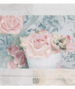 Servetel Belle Fleurs de Paris Vintage rosé
