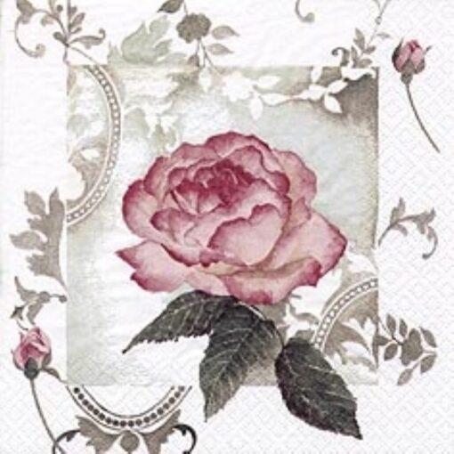 Servetel Enchanting Rose Vintage rosé