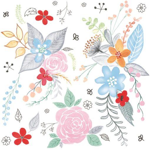 Servetel decoupage floral Garden Fantasy