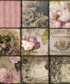 Servetel Vintage Collage Paris