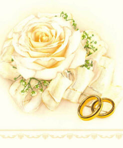 Servetel Wedding Roses white