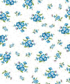 Servetel flori nu-ma-uita