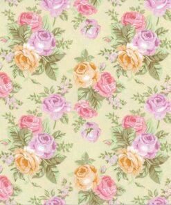 Servetel pastel roses wallpaper