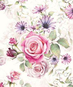 Servetel trandafir Madeline