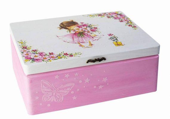 cutie pentru copii tehnica servetelului
