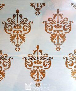 Șablon – background damask – 30×30 cm - cod 6923