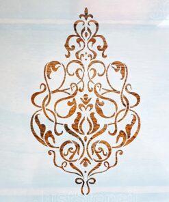 Șablon – damask 1301 – 30×30 cm - cod 1301