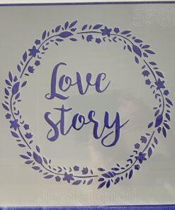 Șablon Love story