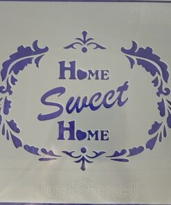 Șablon home sweet home