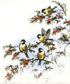Șervețel Sophy's birds 33x33 cm