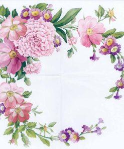 Șervețel carnation flower - 33x33 cm.