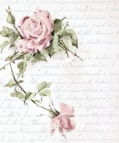 Șervețel roses&letter