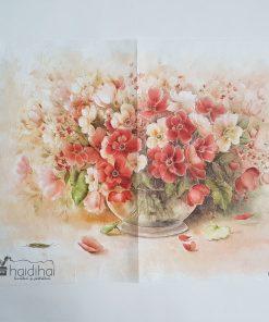 Hârtie de orez - flori