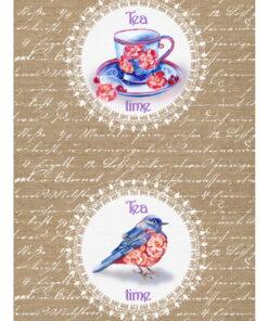 Hârtie decoupage - Lace vintage 3
