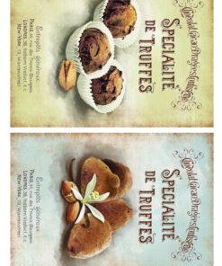 Hârtie decoupage prăjituri Sweets 11