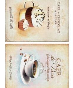 Hârtie decoupage prăjituri Sweets 5 - A4