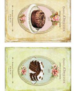 Hârtie decoupage prăjituri sweets 17.