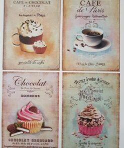 Hârtie decoupage prăjituri sweets 6.