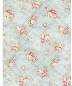 Hârtie decoupage shabby-roses 23