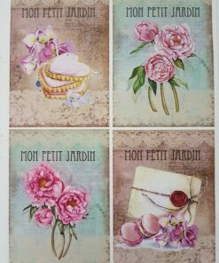 Hârtie decoupage vintage collection 4.