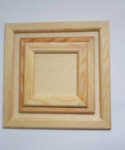 Ramă din lemn pătrată