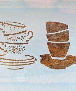 Sablon – perfect cup of tea – 30×30 cm