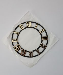 confectionare ceas cu cifre romane