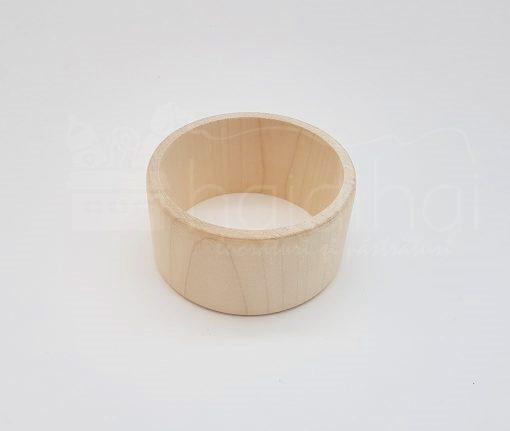 Brațară din lemn – pentru decorat – 40 mm 1