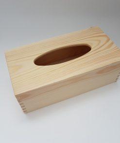 Cutie din lemn pentru șervețele.