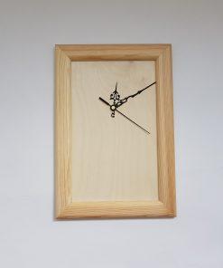 ceas rama de lemn natur