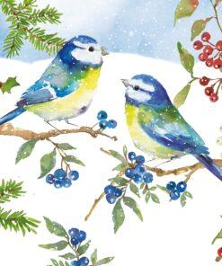 Servetel - Blue Birds - 33x33 cm