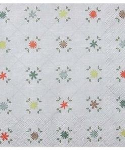Servetel - cute pattern - 33x33 cm