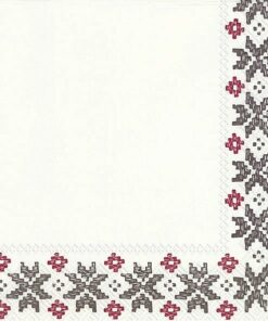 Servetel - motiv folcloric - 33x33 cm
