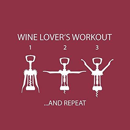 Servetel wine lover's workout 25x25