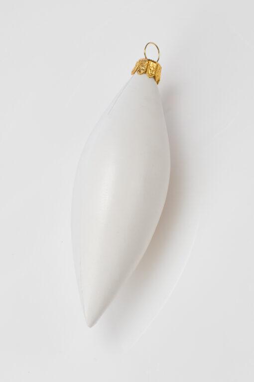 Glob icicle - gheață – alb -18 cm