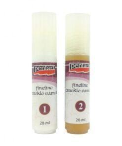 Lac crăpare bicomponent Fineline – Pentart – 20 ml