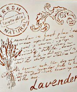 Sablon – lavenderlavanda – 2525 CM – CADENCE