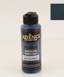 Vopsea acrilică - deep ocean - CADENCE - 120 ml