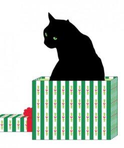 Servetel - Black Cat - 33x33 cm