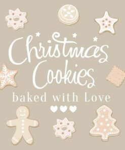 Servetel - Christmas Sweet Cookies - 33x33 cm