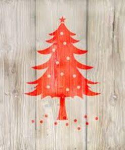Servetel - winter tree red