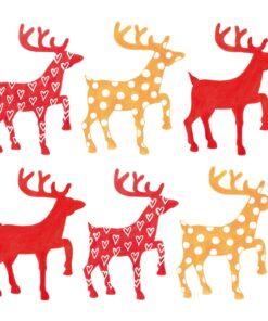 Servetel - Anneko´s Deers - 33x33 cm