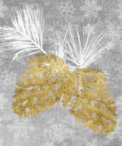 Servetel - Holiday Pinecones - 33x33 cm