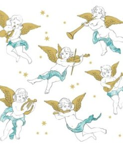 Servetel - Angels in the Sky - 33x33 cm