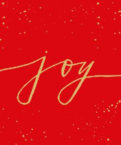 Servetel decoupage - Joy - 33x33 cm