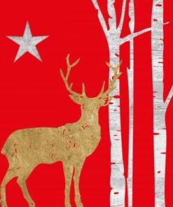 Servetel decoupage - Mystic Deer - 33x33 cm